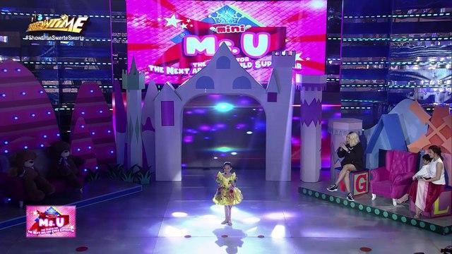 Mini Miss U candidate delivers a poem about Taal | It's Showtime Mini Miss U