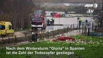 """Nach Sturm """"Gloria"""" steigt Zahl der Toten"""