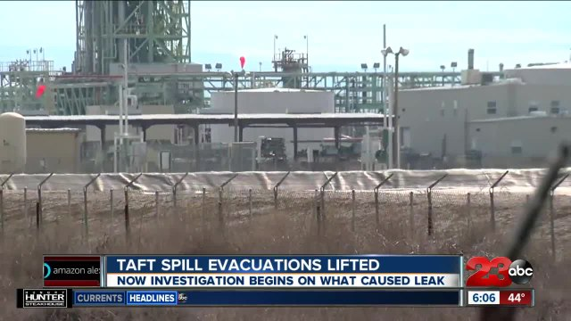 Authorities investigating Taft chemical leak