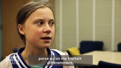 """""""Ça m'a permis de me relever"""" : Greta Thunberg raconte dans """"Envoyé spécial"""" comment son action pour le climat l'a aidée à sortir de la dépression"""