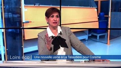 Frédéric GRASSET nous racontera comment COREME, spécialiste stéphanois des literies, canapés, salons et convertibles vient d'investir 2 millions d'euros dans un nouveau site de production à la Talaudiere .