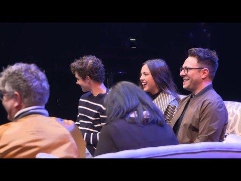 Exclusive: Joshua Bassett and Olivia Rodrigo Perform