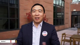 Marianne Williamson Lends Support To Andrew Yang