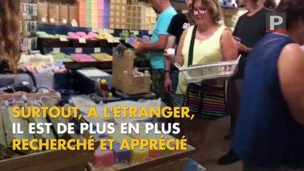 """Le """"vrai"""" savon de Marseille connaît un énorme succès dans le monde entier"""