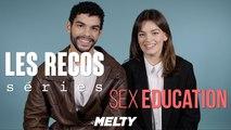 Sex Education - Emma Mackey et Sami Outalbali donnent leurs séries préférées ! (RECOS)