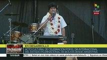 Evo Morales: demostramos que sin el capitalismo se logra el bienestar