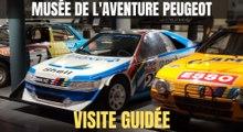 Musée de l'Aventure Peugeot : visite guidée