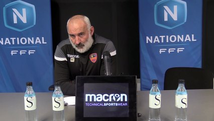 Vidéo – Le point presse du coach F. Ciccolini avant la réception du SC Toulon