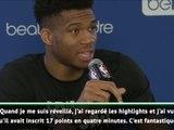 Paris Game - Giannis Antetokounmpo met le prodige Zion en garde : ''Ne précipite rien !''