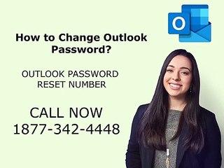Outlook Password Reset Number 1877-342-4448