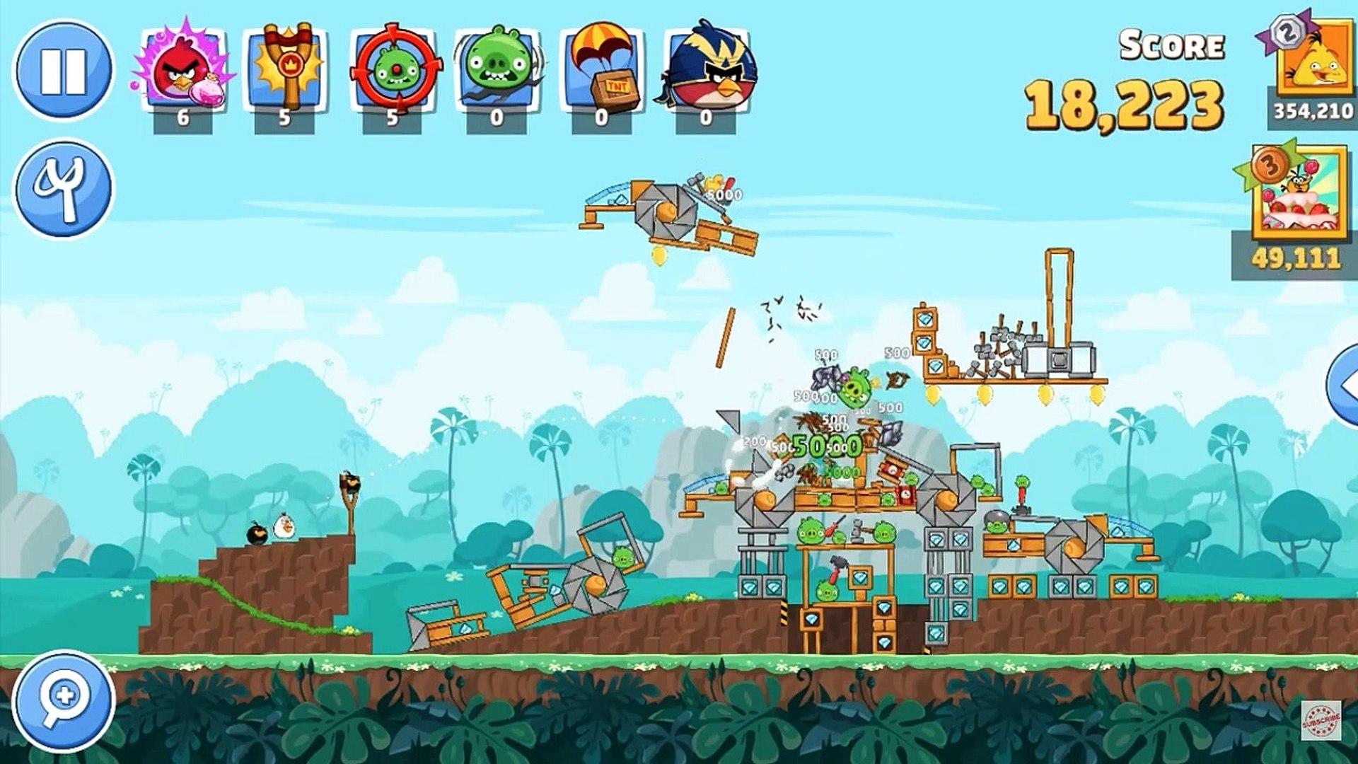 Angry Birds Friends - Gameplay Walkthrough part 2 - Angry Birds Friends - Procédure pas à pas de gam