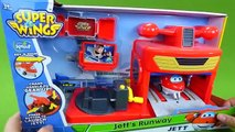 Super Wings Jett's Runway Airport Launcher Toys Jett Delivers a Package to Toy Story Buzz Lightyear