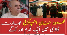 Only M K achakzai went to Indian republic day ceremony