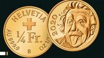 Newly Unveiled World's Smallest Gold Coin Features Einstein