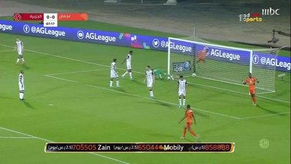 تعادل عجمان والجزيرة في الجولة الـ13 من دوري الخليج العربي الإماراتي