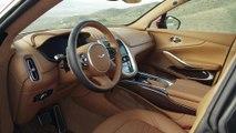 Der Aston Martin DBX - Das Interieur Design