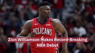Zion Williamson Is Making A Name For Himself
