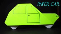 Origami Car for Kids ,  How to Fold an Origami Car ,  Crafts for Kids to Make at Home with Paper ,  Easy Paper Crafts for Kids ,  Origami Paper Car