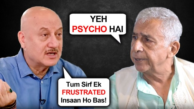 Naseeruddin Shah And Anupam Kher INSULT EACH OTHER | SUPPORT Deepika Padukone For Protest