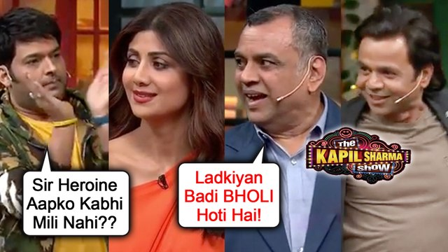 Kapil Sharma COMEDY With Paresh Rawal, Shilpa Shetty, Rajpal | The Kapil Sharma Show | Hungama 2