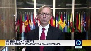 US threatens to assassinate Soleimani successor