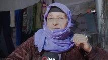 - Engelli eşi ve kızlarıyla İdlib'den kaçan annenin dramı- Yaşlı kadın, engelli 2 kızı ve engelli eşiyle çadırda hayata tutunmaya çalışıyor
