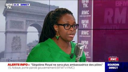 """Sibeth Ndiaye: """"La retraite ne peut pas être au même niveau que le salaire que vous avez perçu au cous de votre vie de travail"""""""