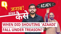 Can UP CM Yogi Adityanath Press Sedition Charges Against 'Azaadi' Sloganeers?