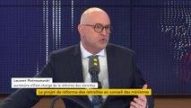 Laurent Pietraszewski, secrétaire d'Etat chargé de la réforme des retraites