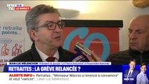 """Pour Jean-Luc Mélenchon, Emmanuel Macron est """"le seul responsable de toute la violence"""""""