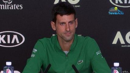 "Open d'Australie 2020 - Novak Djokovic and ""his"" tribute to Caroline Wozniacki"