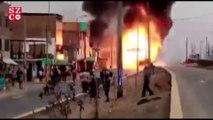Peru'da yakıt tankeri patladı 6 ölü, 45 yaralı