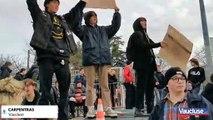 Carpentras: des lycéens manifestent contre la réforme du bac