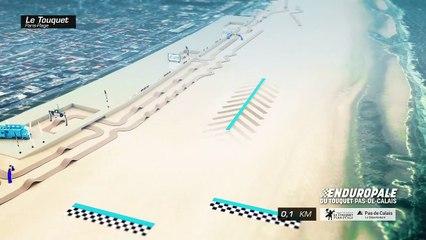 circuit du 45ème Enduropale du Touquet Pas-de-Calais 2020