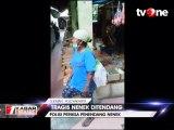 Pelaku Penendang Nenek yang Diduga Pencuri Ditangkap Polisi