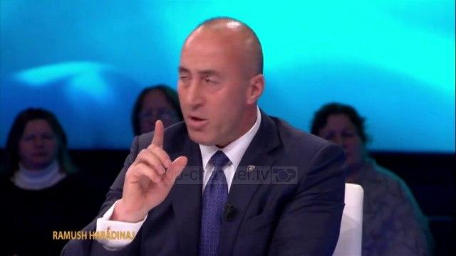 """""""Rama deshi të ndajë Kosovën""""/ Haradinaj në """"Open"""" thellon akuzat për homologun"""