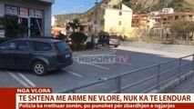 Report TV - Të shtëna me armë zjarri te 'Uji i ftohtë' në Vlorë