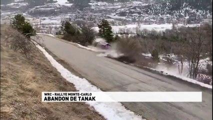 L'énorme crash d'Ott Tanak