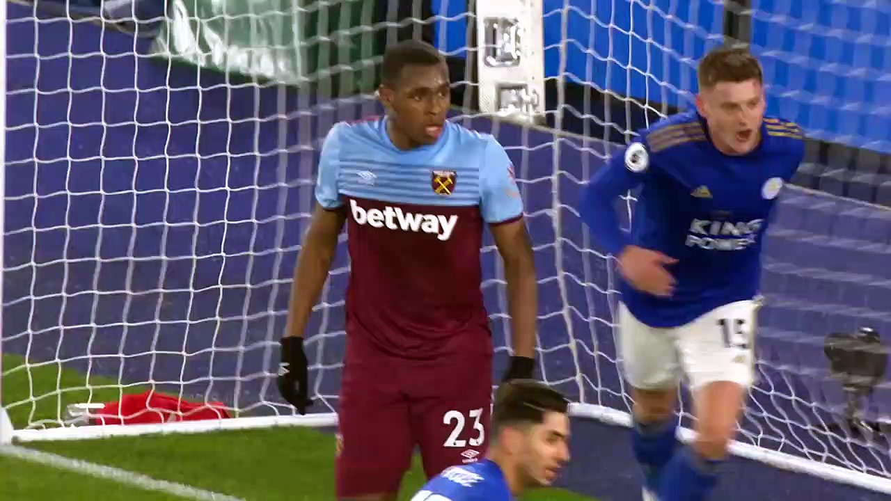 Leicester City - West Ham (4-1) - Maç Özeti - Premier League 2019/20