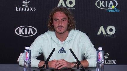 "Open d'Australie 2020 - Stefanos Tsitsipas on Milos Raonic : ""It's monotonous"""