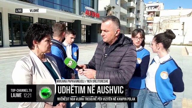 Udhëtim në Aushvic/ Nxënësit nga Vlora tregojnë për vizitën në kampin polak