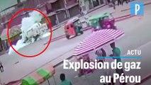Un camion rempli de gaz de pétrole explose à Lima