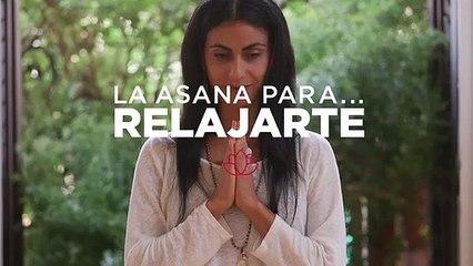 Asana de la diosa reclinada para relajarte Yoga con Or Haleluiya 1x10