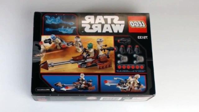 LEGO Rebel Alliance Battle Pack 75133 speed built