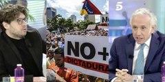 """El progre Berlín se hace el indolente con Venezuela y termina rogando a Inda: """"A mí déjame vivir"""""""