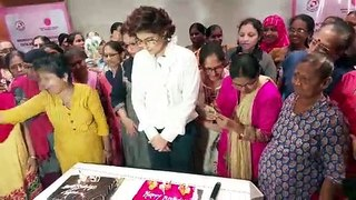 Tahira Kashyap's post birthday celebrations with breast cancer survivors