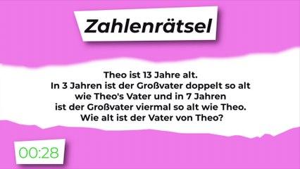 Zahlenrätsel: Theo