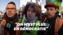 Retraites: ces manifestants répondent à Macron qui leur suggère de tester la dictature
