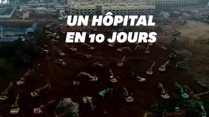 À Wuhan, des ouvriers mobilisés pour construire un hôpital en un temps record