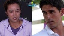 """Open d'Australie 2020 - Thomas Drouet : """"Qiang Wang est un diamant ! Elle respecte son entraineur et elle l'écoute"""""""